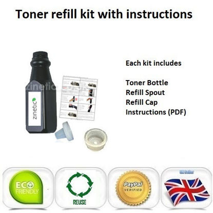Picture of Compatible Brother TN-2000 Black Toner Refill