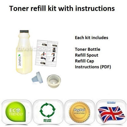 Picture of Compatible Yellow Brother TN-230Y Toner Refill