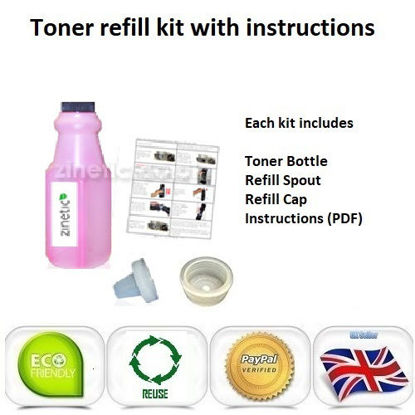 Picture of Compatible Magenta Brother TN-230M Toner Refill