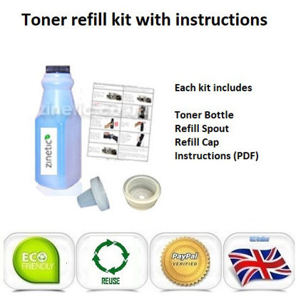 Picture of Compatible Cyan Brother TN-230C Toner Refill