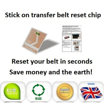 Picture of iColor 300 Transfer Belt Reset Chip