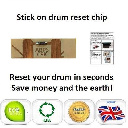Picture of OKI C9650 Drum Reset Chip