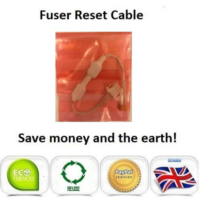 Picture of OKI C9655 Fuser Reset Cable