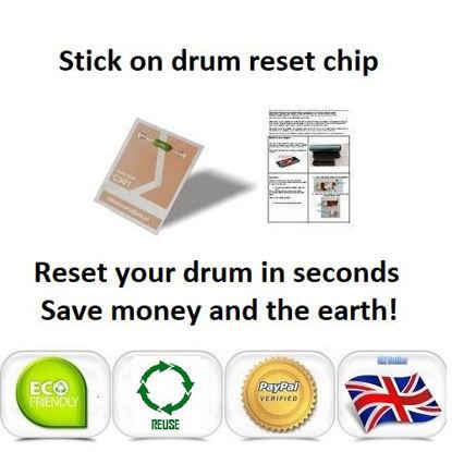Picture of OKI MC350 Drum Reset Chip