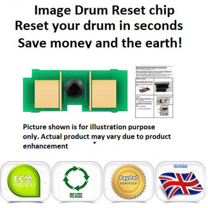 Picture of Xerox Phaser 7500 Imaging Drum Reset Chip