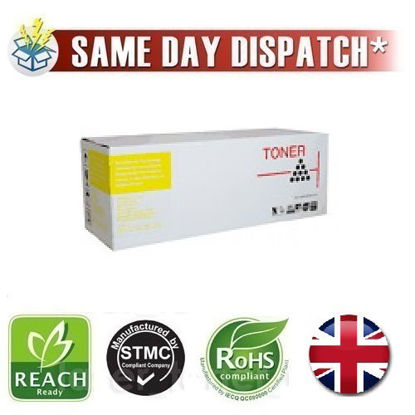 Picture of Compatible Yellow HP 654A Toner Cartridge