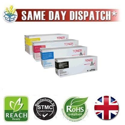 Picture of Compatible 4 Colour 43112702 C/M/Y/K OKI Toner Cartridges Multipack Pack