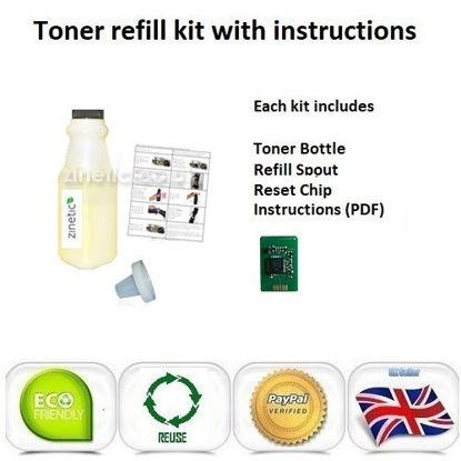 OKI C801 Toner Refill Yellow