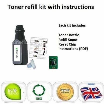 OKI C822 Toner Refill Black
